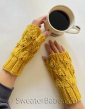 alina fingerless gloves pdf knitting pattern