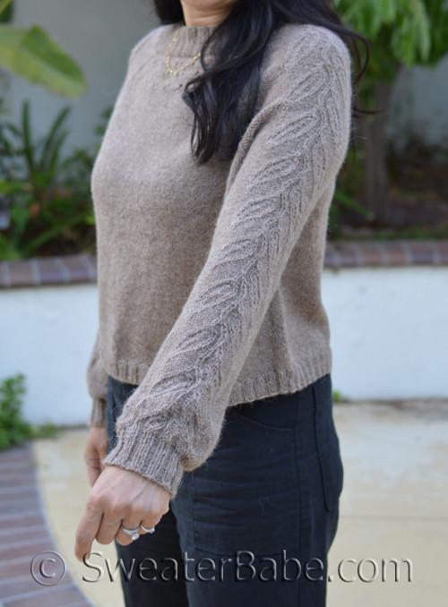 Aubrey Top-Down Sweater