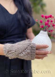 sylvie fingerless gloves