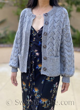 Emilia Cardigan pdf knitting pattern