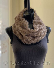 aria cowl pdf knitting pattern