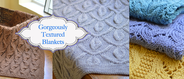 Gorgeous Blankets to Knit