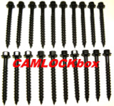 Ceramic Coated Timber Screws 20 Pack