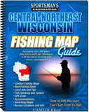 Sportsman's Connection Fishing Map Guide (Central-Northeast Wisconsin)