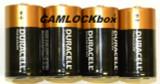 Duracell Alkaline C Batteries 4 Pack (B)