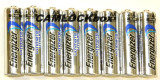 Energizer Lithium AA Batteries 8 Pack (B)