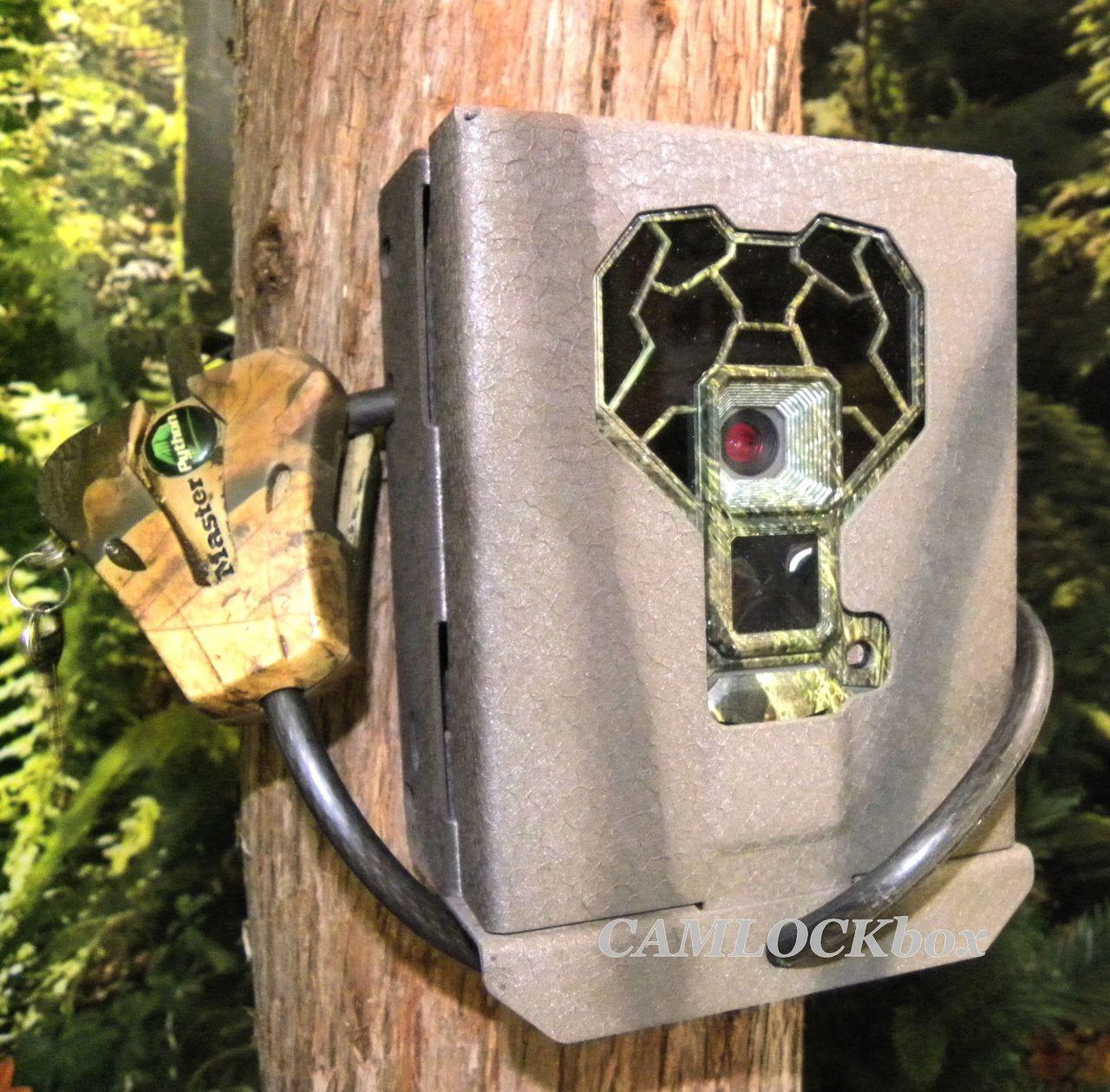 Camlock Sécurité Boîte pour Stealth Cam 4K CASE seulement