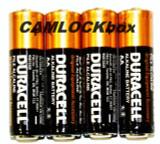 Duracell Alkaline AA Batteries 4 Pack (B)