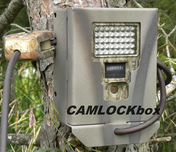 Bresser Lcd Game Camera Security Box Camlockbox