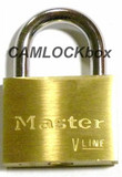 Master Lock Brass Padlock - Keyed Alike (4150KA)
