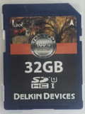 Delkin 32 GB Trail Camera SD Card