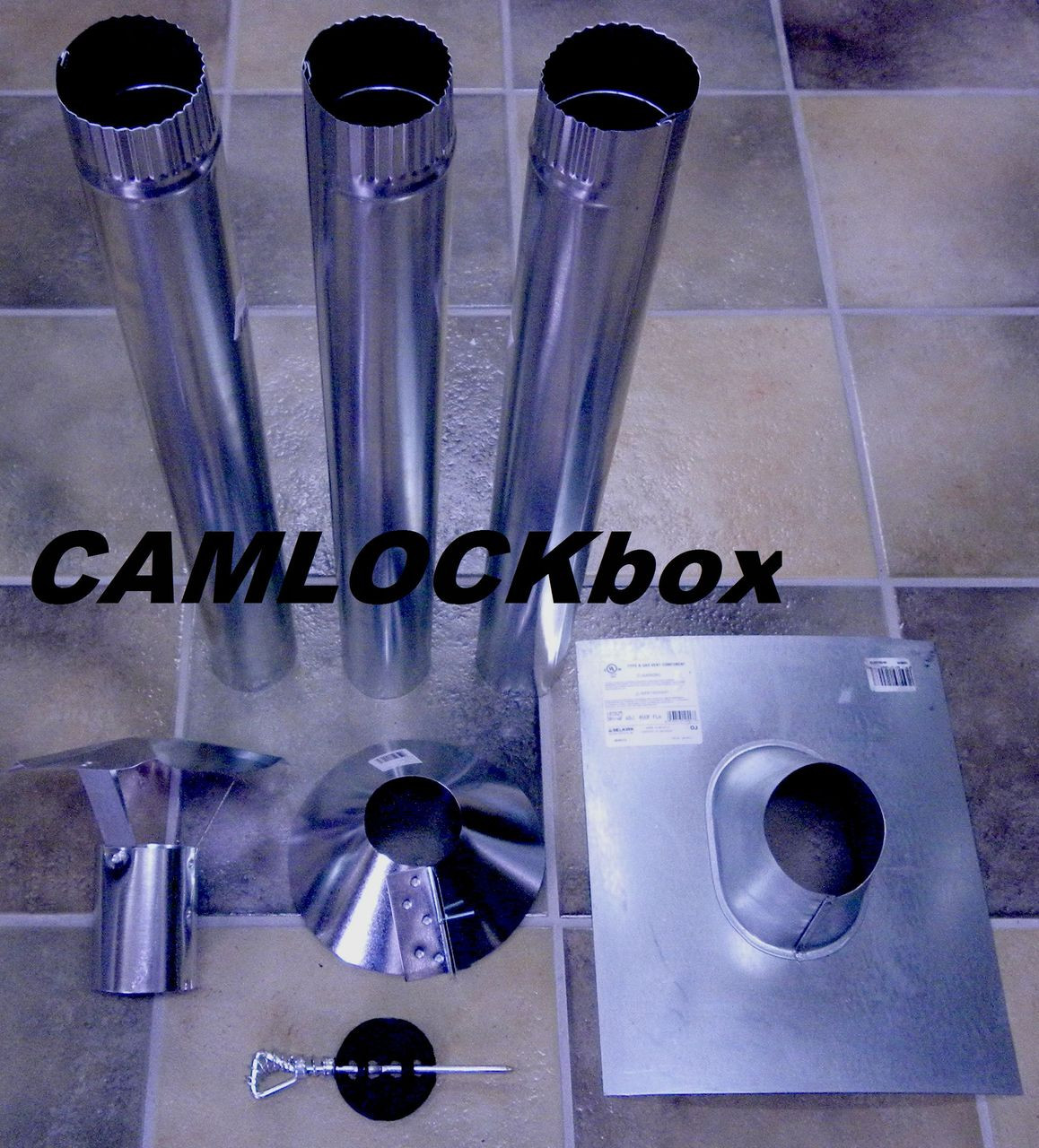 Nu Way Stove Pipe Kit Camlockbox