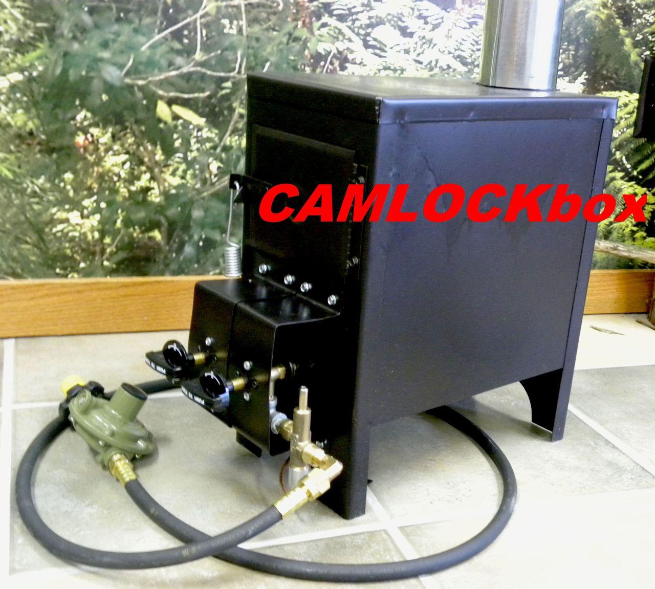 Nu Way Propane Stove Model 4000 Camlockbox
