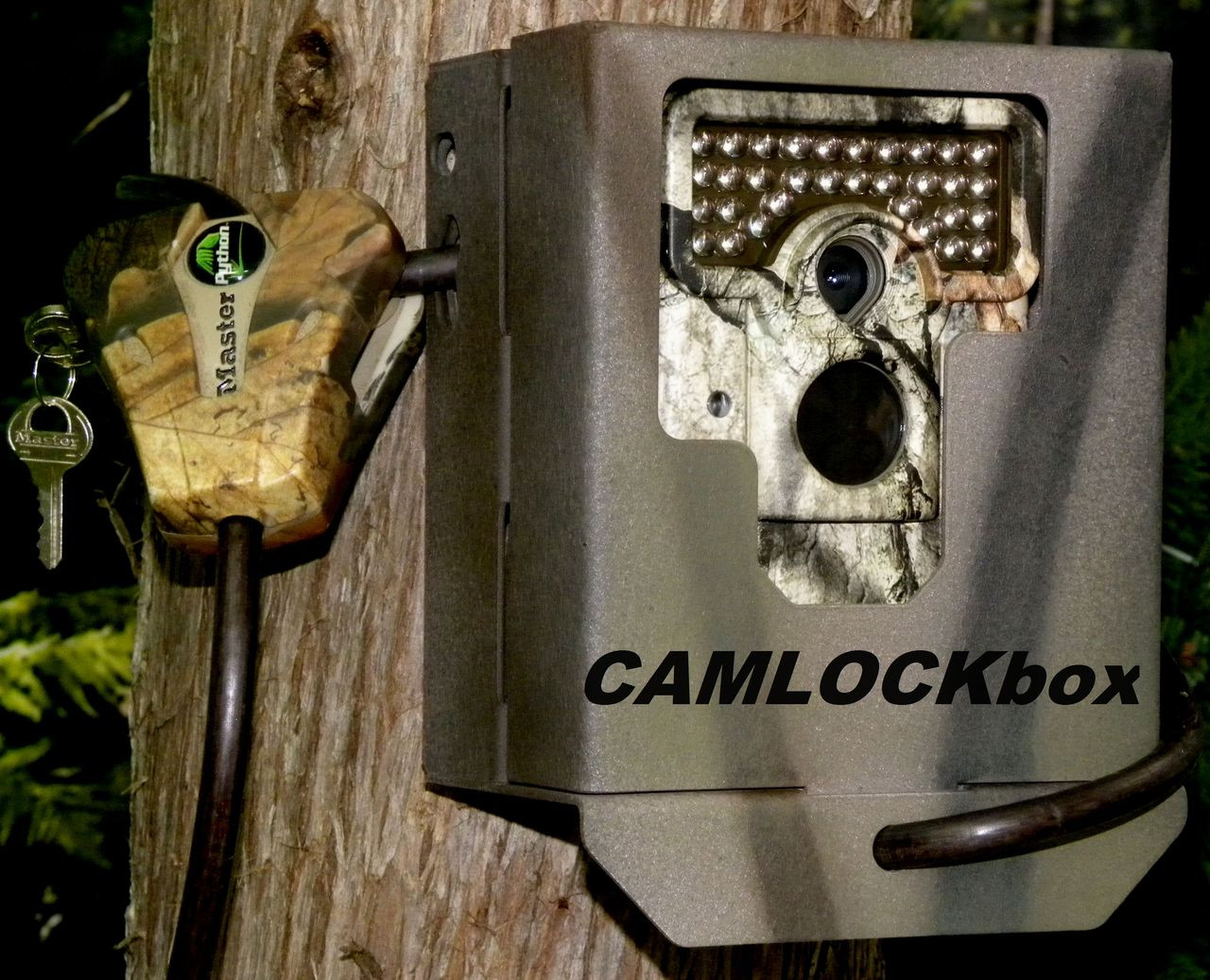 CAMLOCKbox Security Box fits Moultrie M-888i Digital Game Camera
