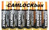 Duracell Alkaline AA Batteries 6 Pack (B)