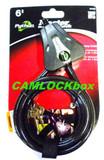 Master Lock 8418D Python Cable Black (B)