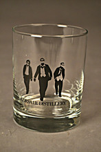 Double Old-Fashion Glass - Black