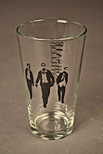 Pint Glass - Black