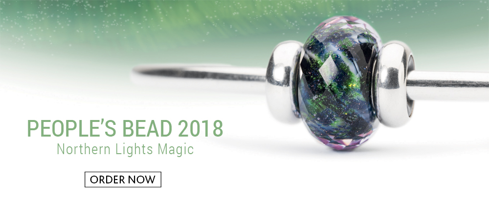 Trollbeads People's Bead Northern Lights Magic