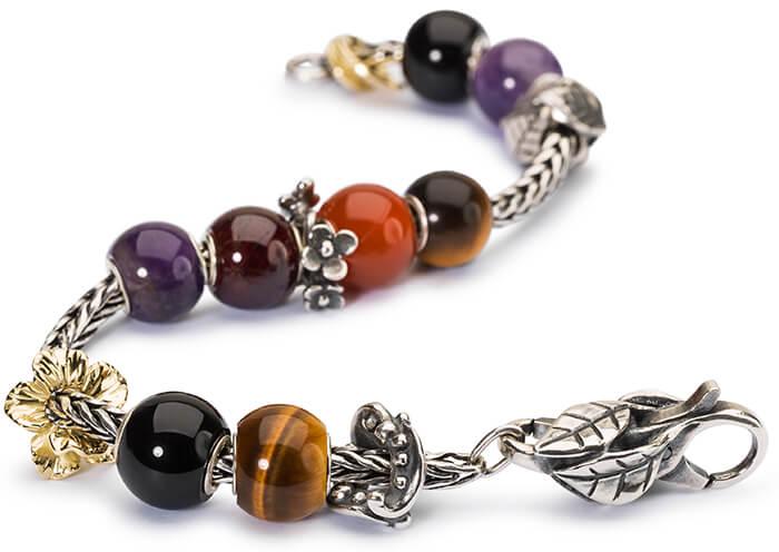 Trollbeads Round Gem Stone Bracelet