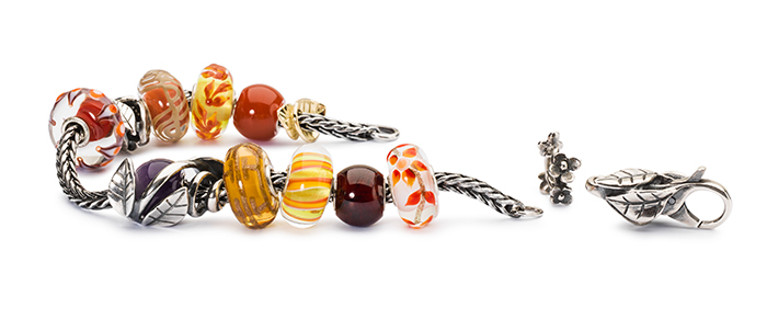 Trollbeads Fall With Silver