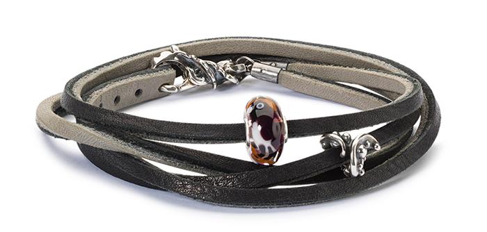 Trollbeads Double Leather Bracelet