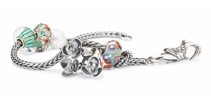 Trollbeads Bracelet with Swan Clasp