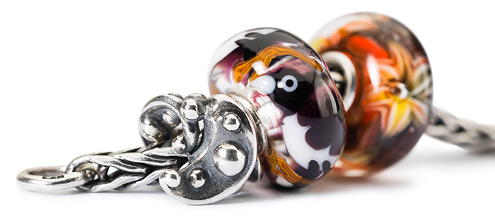 Trollbeads Silver and Glass Charms