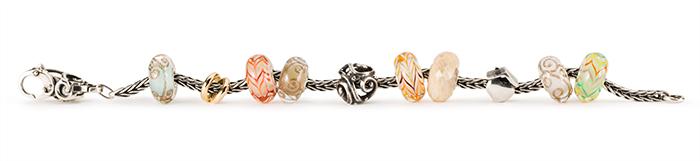 Trollbeads glass straight bracelet