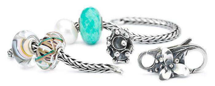 Trollbeads Bracelet with Pearls