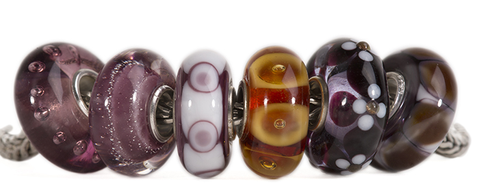 Universal Unique Glass Trollbeads
