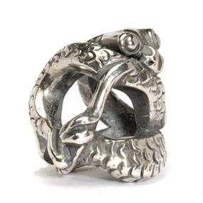 Trollbeads Silver Charm Baby Dragon