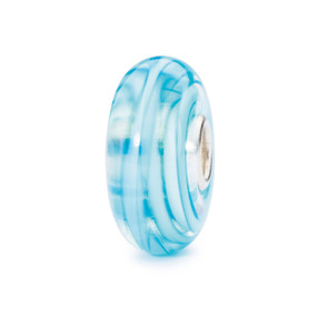 Trollbeads | Turquoise Ribbon | Glass Beads | TrollbeadsAkron.com