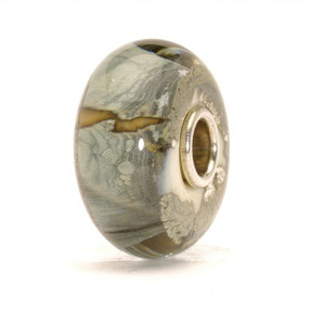Trollbeads Glass Bead Silver Mountain