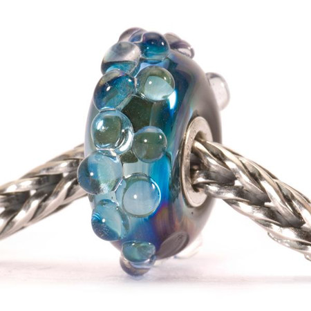 Trollbeads Glass Moon Ocean Bead