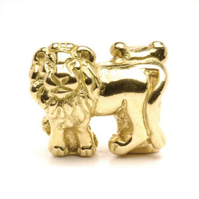 Trollbeads Gold Charm Lions