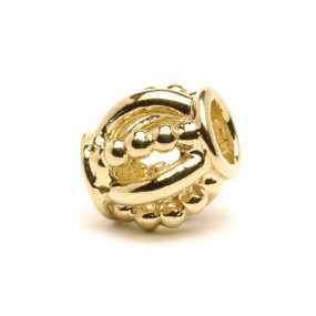 Trollbeads Gold Charm Royal