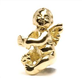 Trollbeads Gold Charm Cherub
