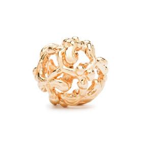 Trollbeads Gold Charm Mistletoe