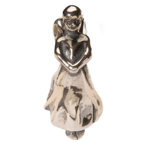Trollbeads Silver Charm Guardian Angel