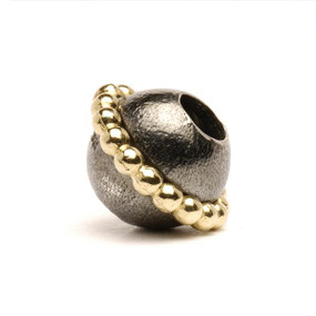 Trollbeads Silver and Gold Charm Planet