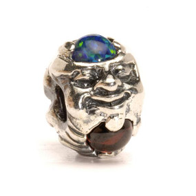 Trollbeads Silver Charm Troll with Gems