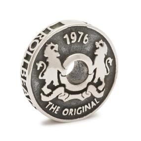 Trollbeads Silver Charm Troll Coin