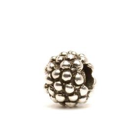 Trollbeads Silver Charm, Berry Silver, Fits Trollbeads Bracelets