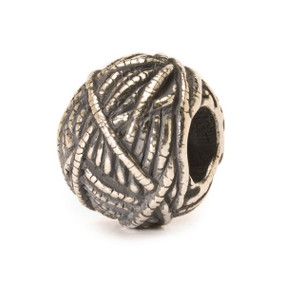 Trollbeads Silver Charm Ball of Yarn 11439