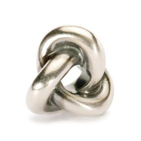 Trollbeads Silver CharmTrefoil Knot 11447