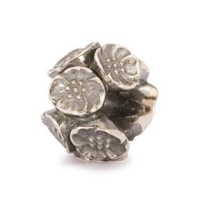 Trollbeads Silver Charm Cherry Blossom 11449