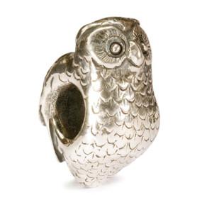Trollbeads Silver Charm Owl