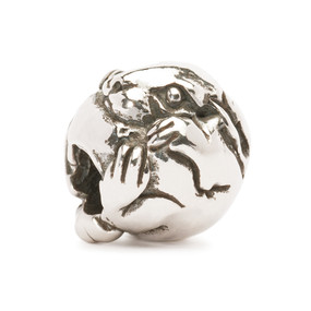 Trollbeads Silver Charm Chinese Rabbit 11456