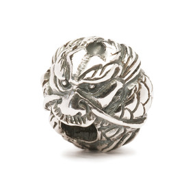 Trollbeads Silver Charm Chinese Dragon 11457